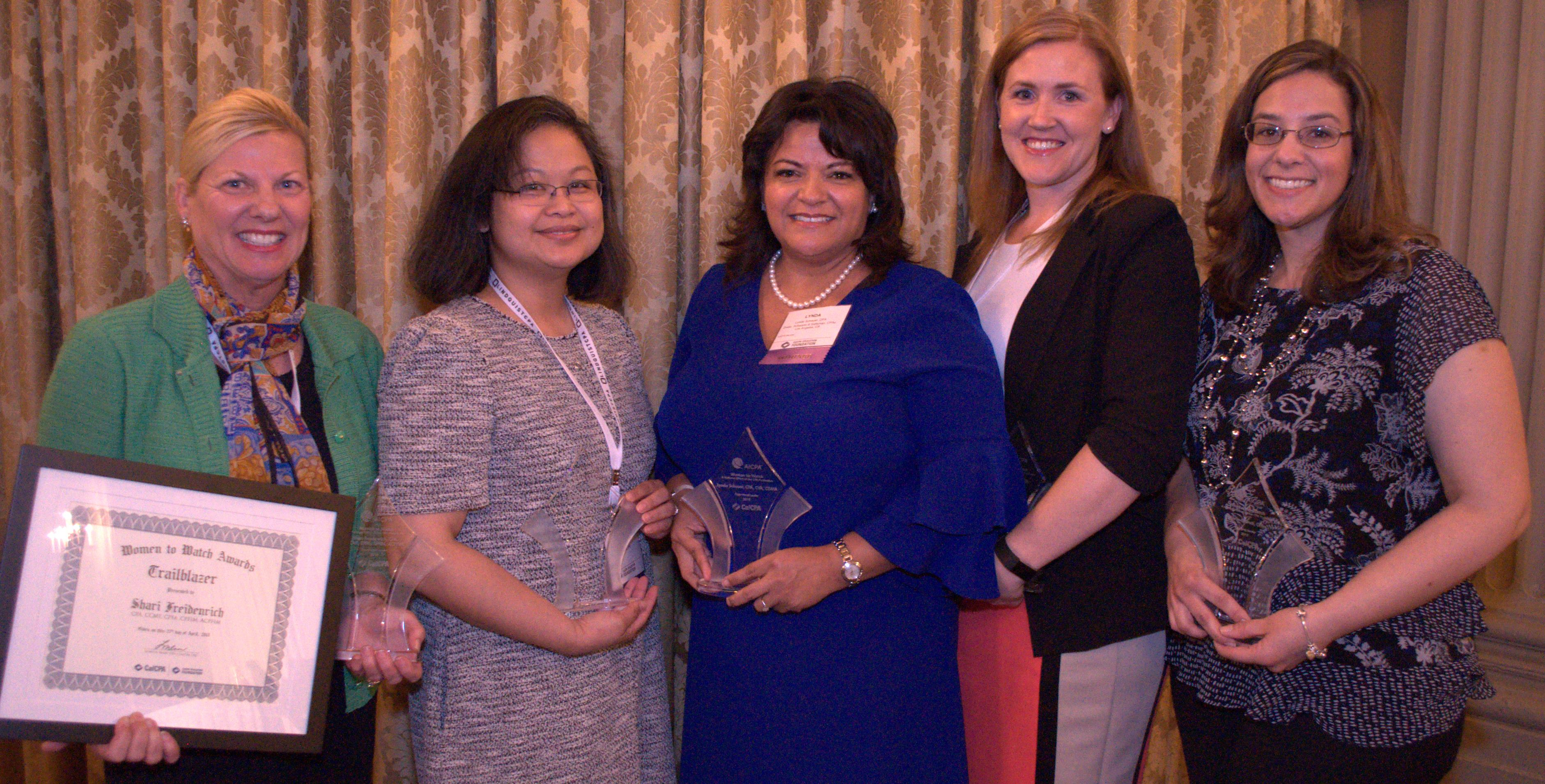 CalCPA announces 2018 'Women to Watch' | Accounting Today
