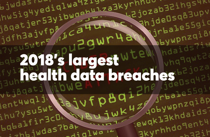 The 12 largest health data breaches of 2018   Health Data