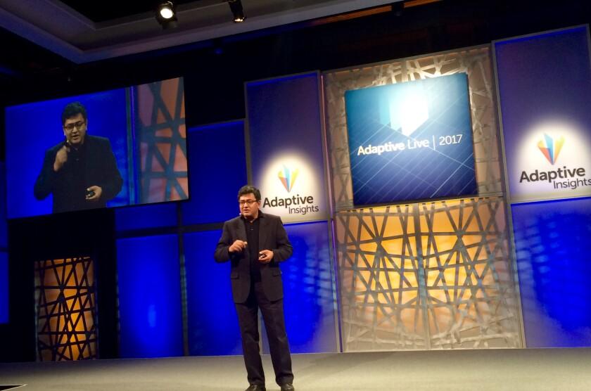 Adaptive Insights chief product officer Bhaskar Himatsingka