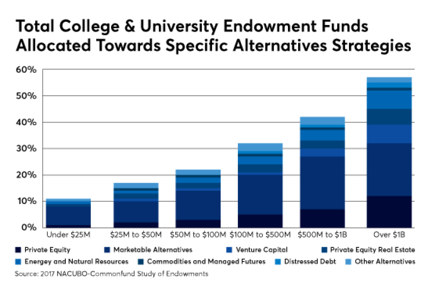 college endowment funds IAG kitces