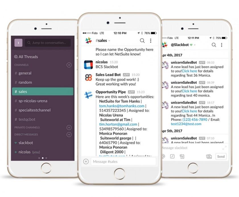SlackBot for NetSuite