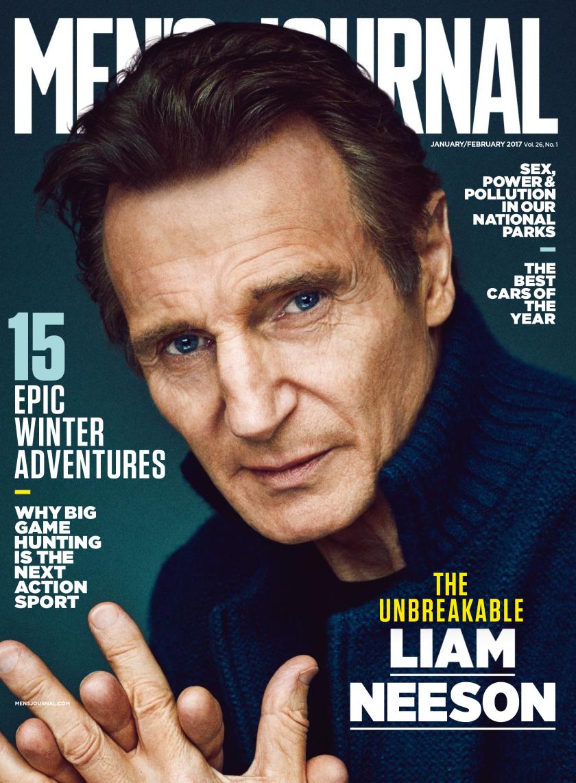 Men's Journal magazine cover