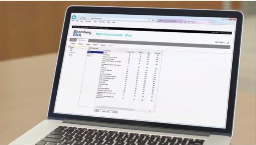BNA Fixed Assets Web