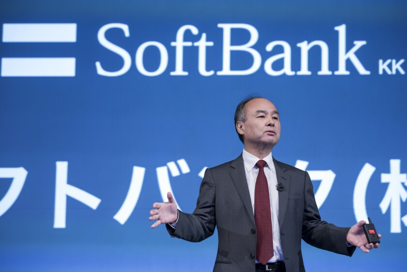 Masayoshi Son CEO of Softbank Group