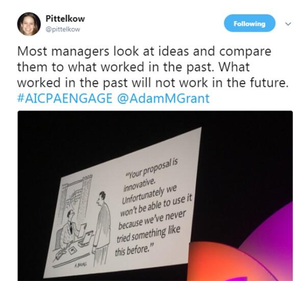 Engage 2018 - Innovation cartoon
