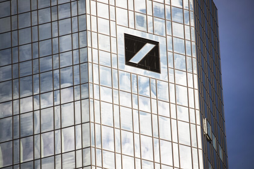 Deutsche Bank said it relied on a rigorous vetting process in selecting hedge fund investments for its wealth management clients.