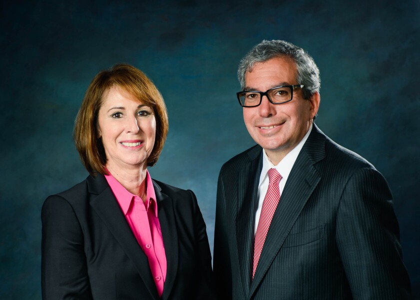 Debbie Ury and Larry Barocas of Snowden Lane Partners