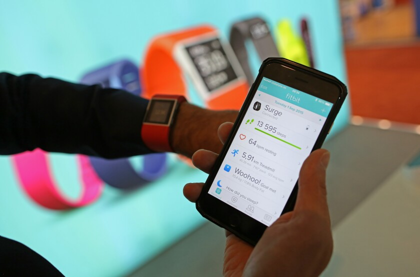 Blue Cross Blue Shield offers Fitbits and gym memberships