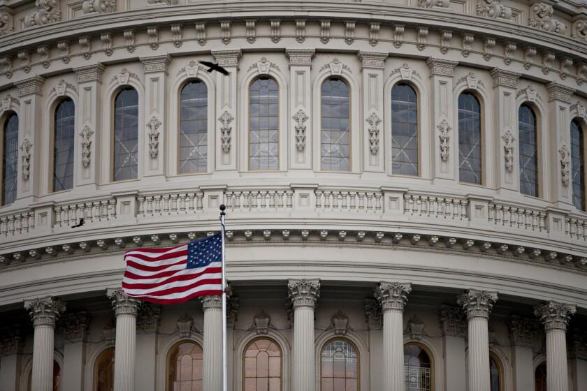 U.S. Capitol flag