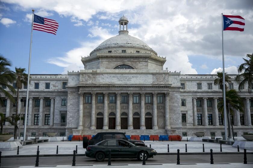 Puerto Rico Capitol building in San Juan, on Saturday, May 13, 2017 Bloomberg News