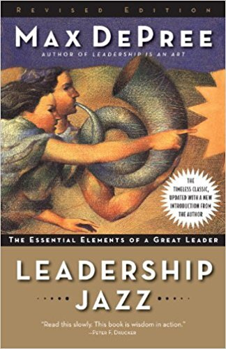 Book cover - Leadership Jazz