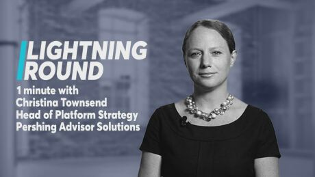 'Go digital or go home': Lightning Round with BNY Mellon | Pershing's Christina Townsend