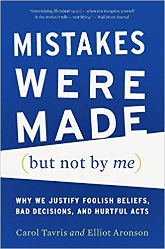 Book cover - Mistakes Were Made