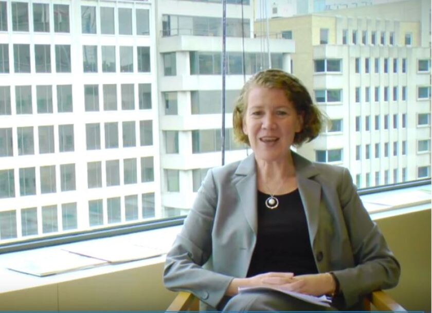 Helen Munter, outgoing director of registration and inspections at the Public Company Accounting Oversight Board