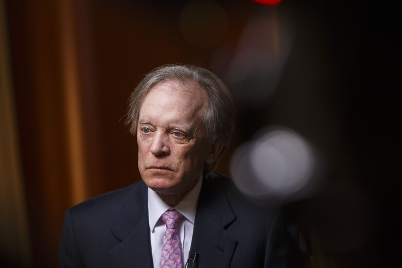 Despite being concerned about high asset prices, Bill Gross says he feels required to stay invested and sees value in some closed-end funds.