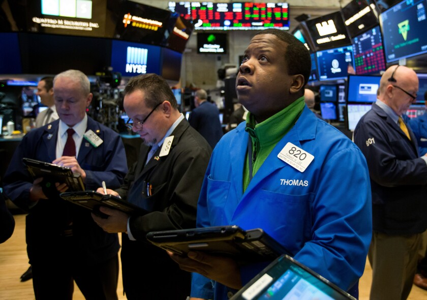 stock market trader nyse worry bloomberg news