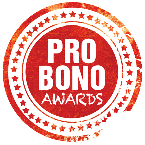 Pro Bono Awards stamp