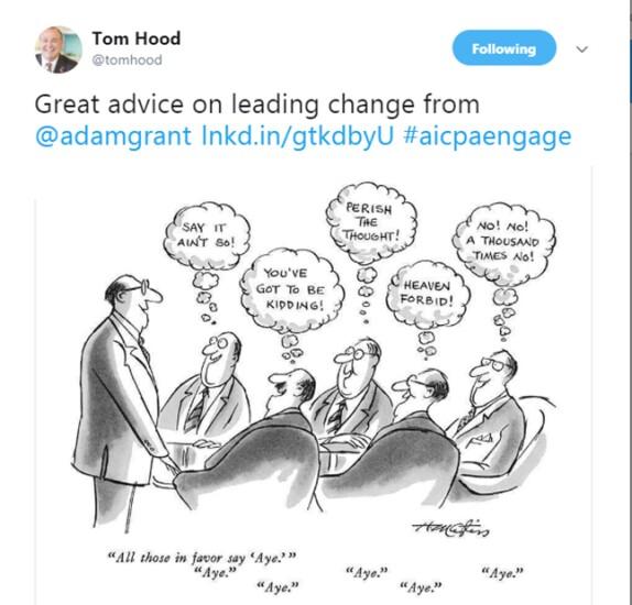 Engage 2018 - Cartoon on change