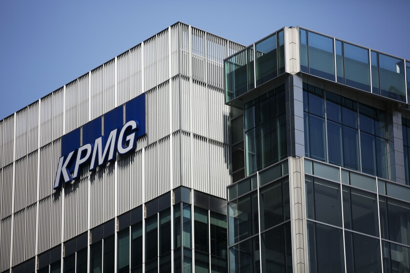 KPMG by Bloomberg News
