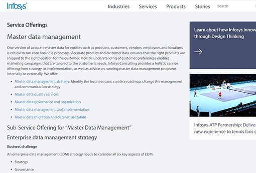 32 top service providers for master data management