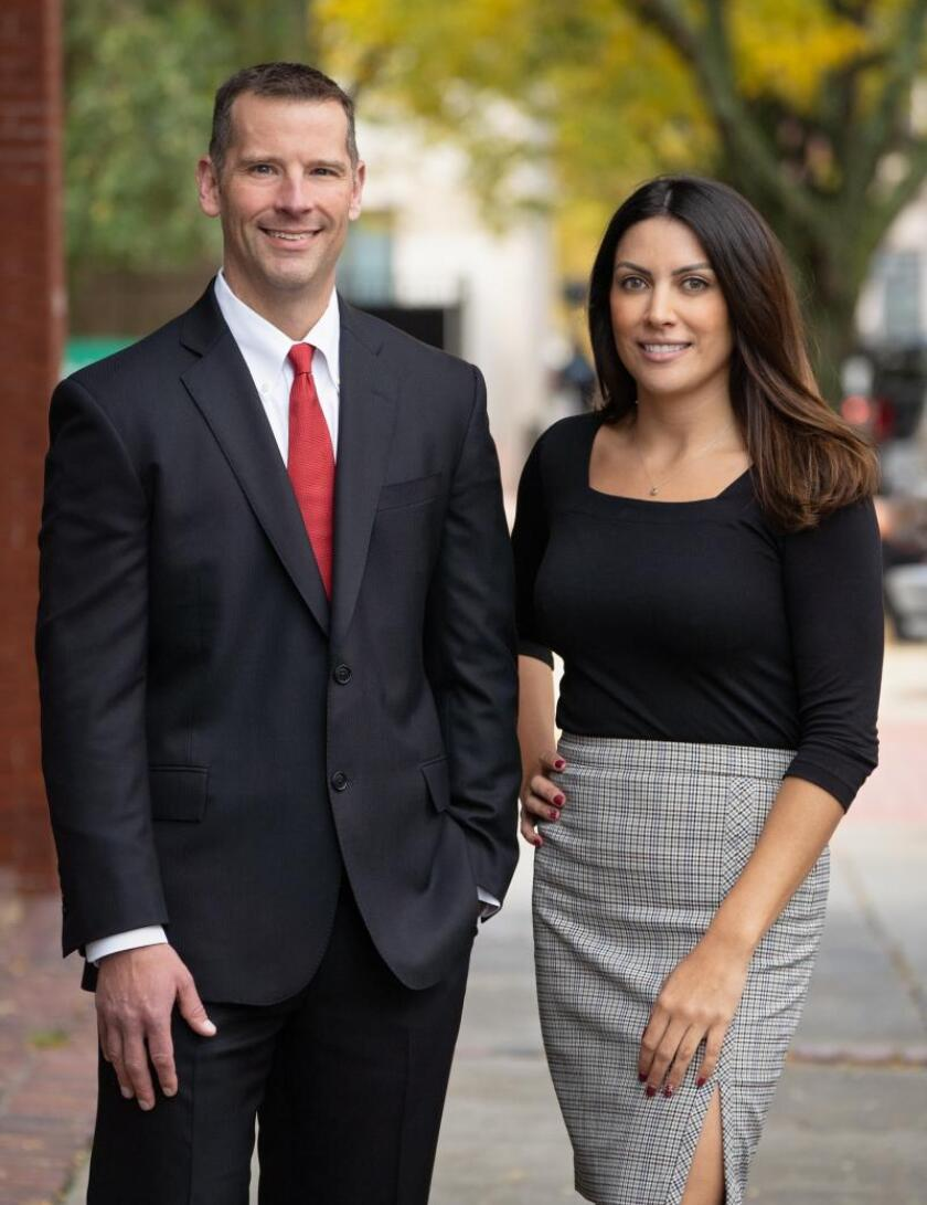 Kevin Taube and Ashley Berberian both started their careers at Merrill Lynch before transitioning to Steward Partners in Manchester, New Hampshire.