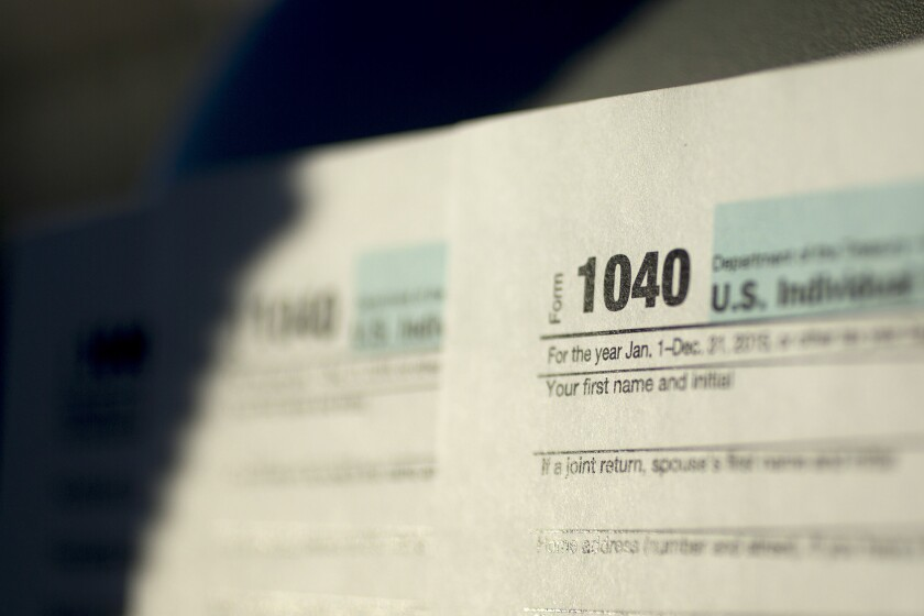 """Scammers """"file fake tax returns in your name and claim your refund,"""" an expert says."""