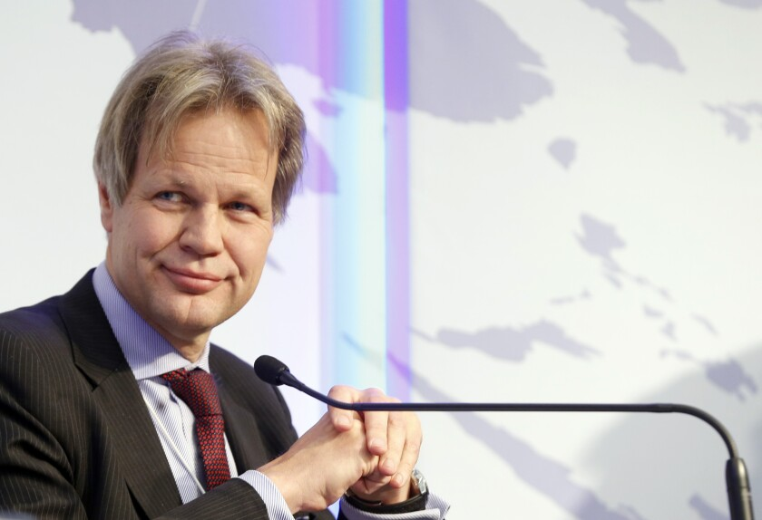 Gottfried Leibbrandt, chief executive officer of SWIFT