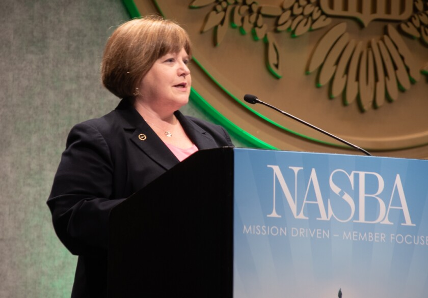 Colleen K. Conrad, executive vice president and chief operating officer of NASBA