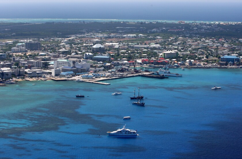 George Town in Grand Cayman, Cayman Islands