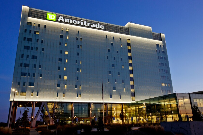 TD Ameritrade says it's working with Virtu to route and execute orders through this new all-night session.