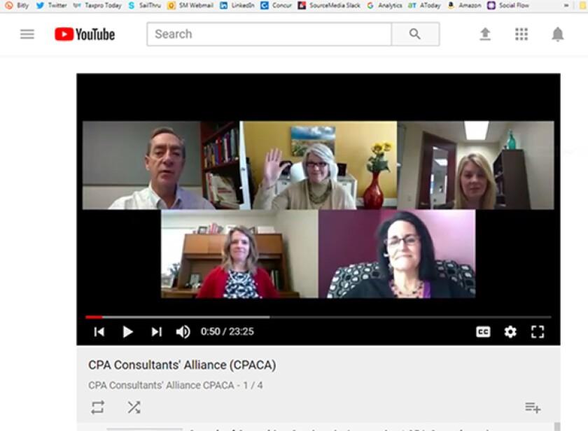 CPACA video screen 1