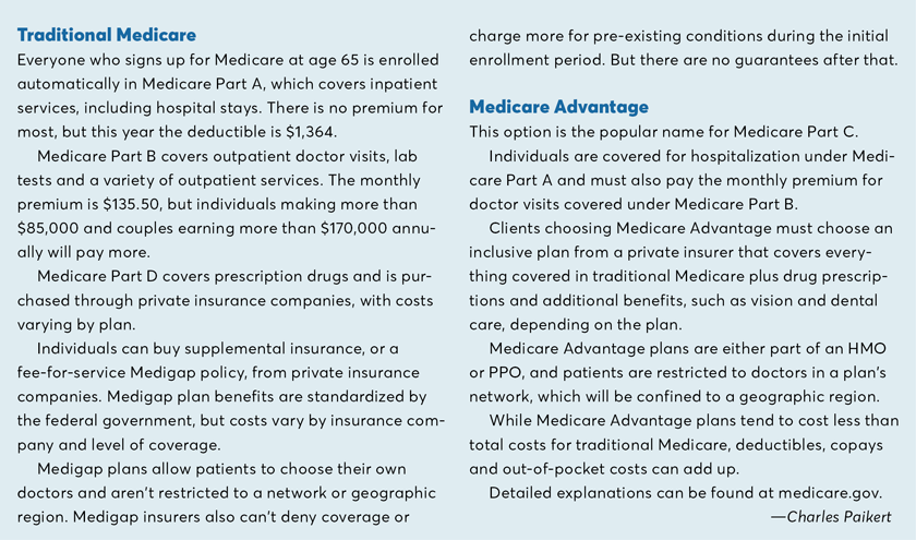 Differences in Medicare and Medicare Advantage-2019-Paikert