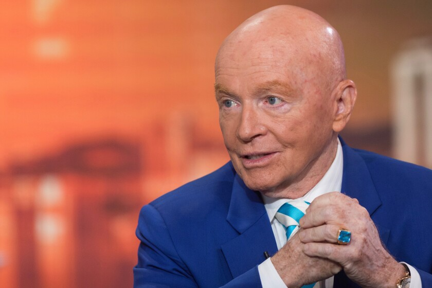 Franklin Templeton Investments hired Mark Mobius in 1987 to head one of the firm's first emerging markets mutual funds.