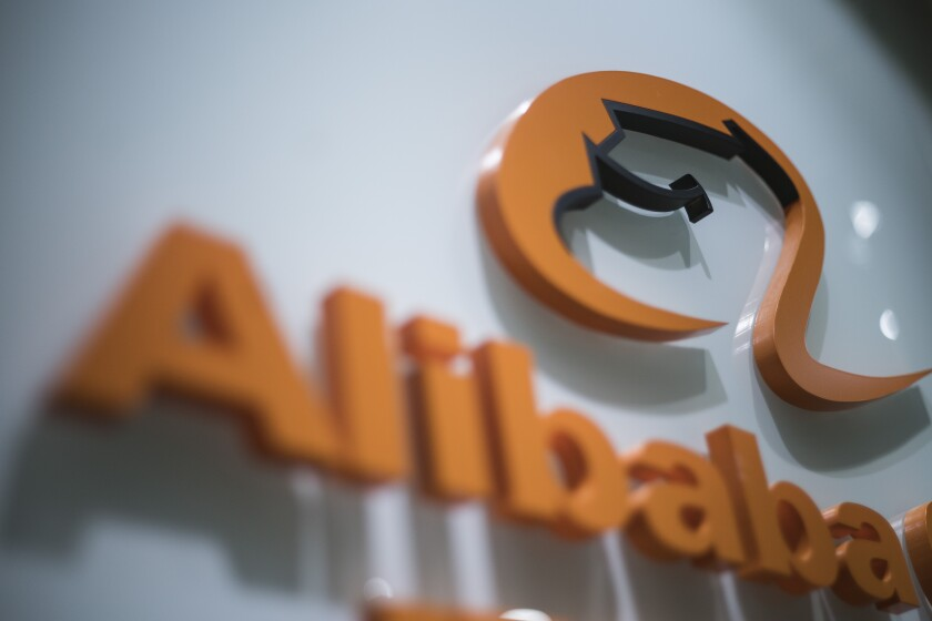 Alibaba Group sign