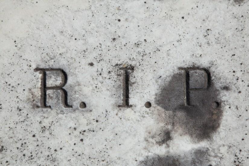 RIP inscription