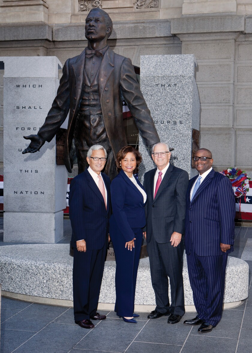 HBH partners (from left): George Saitta, Kia Buckner, Ed Radetich and Michael Horsey