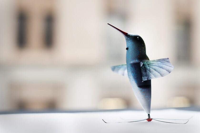 Hummingbird-shaped drone