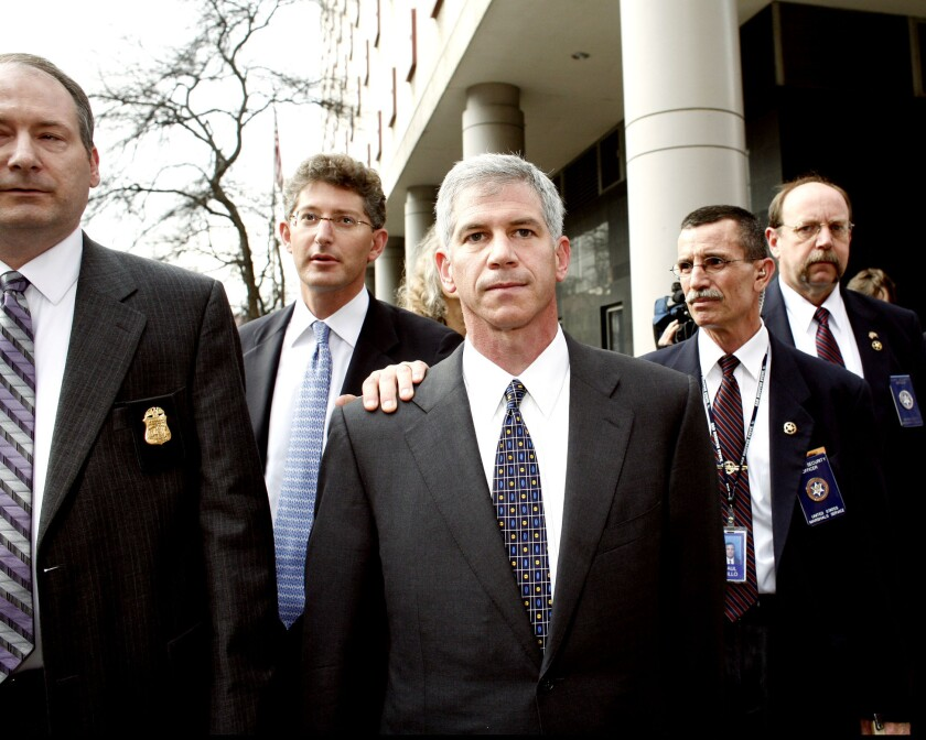 Andrew Fastow, former chief financial officer for Enron Corp. in March 2006