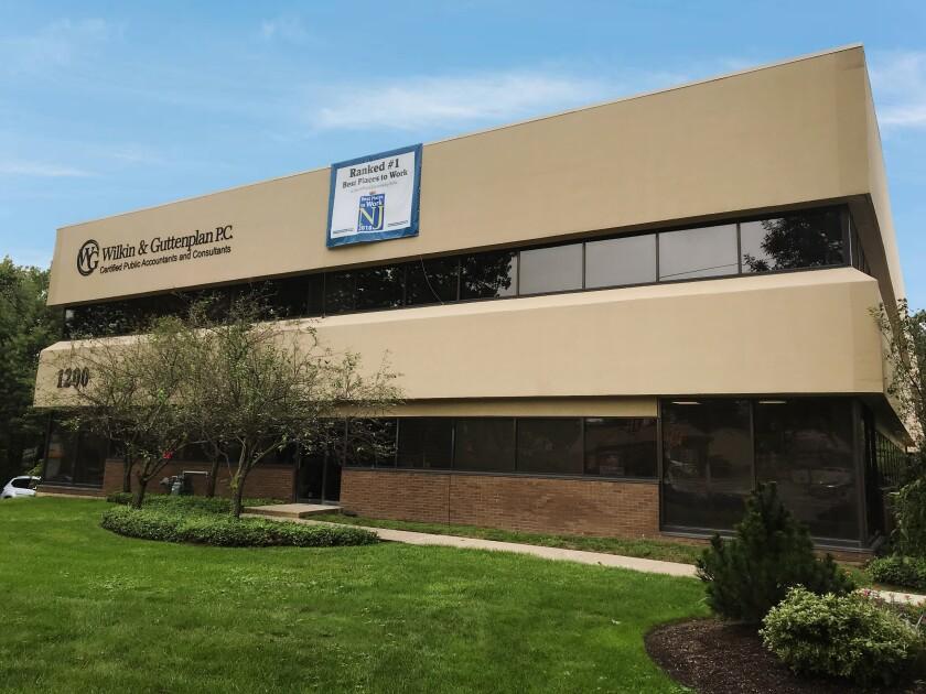 Wilkin & Guttenplan's offices in East Brunswick, New Jersey