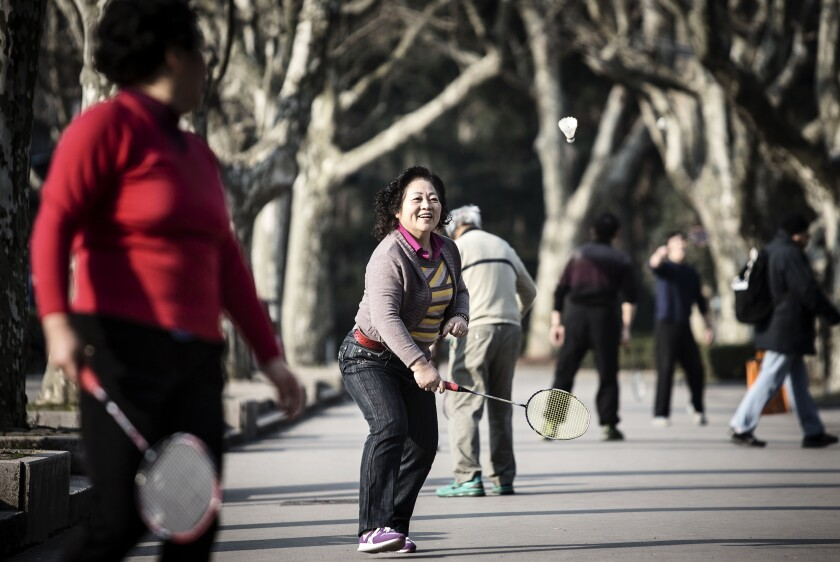 Retirement retirees by Bloomberg News