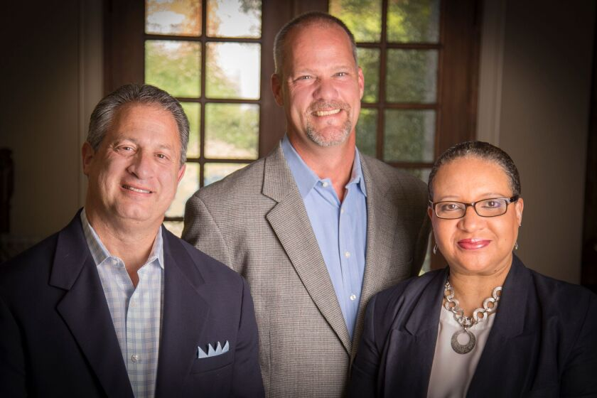 Mark Kopkin, left, Scott Englehardt and Yolanda Etchison join Stifel from Raymond James