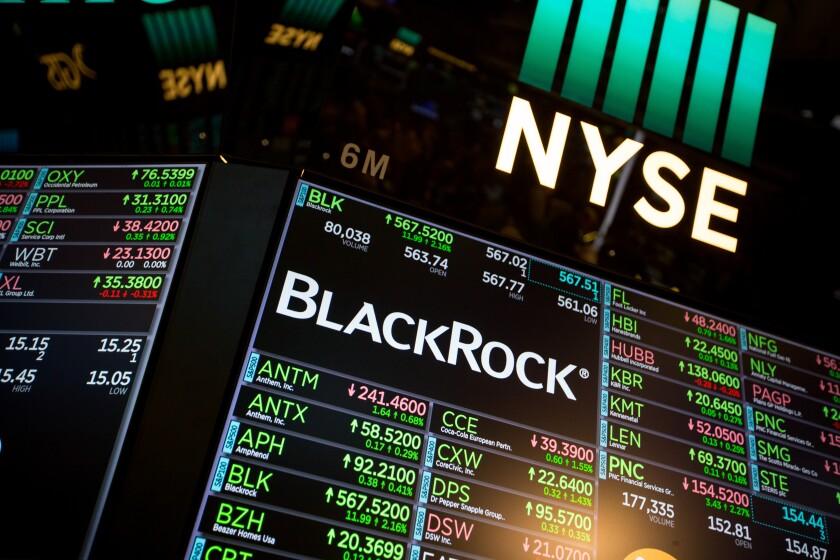 BlackRock's bonus pool increased by around 9% in 2017.