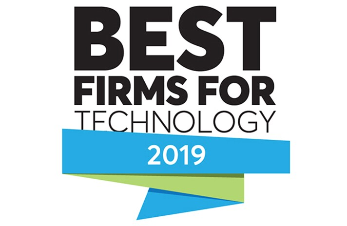 2019 Best Firms for Technology logo