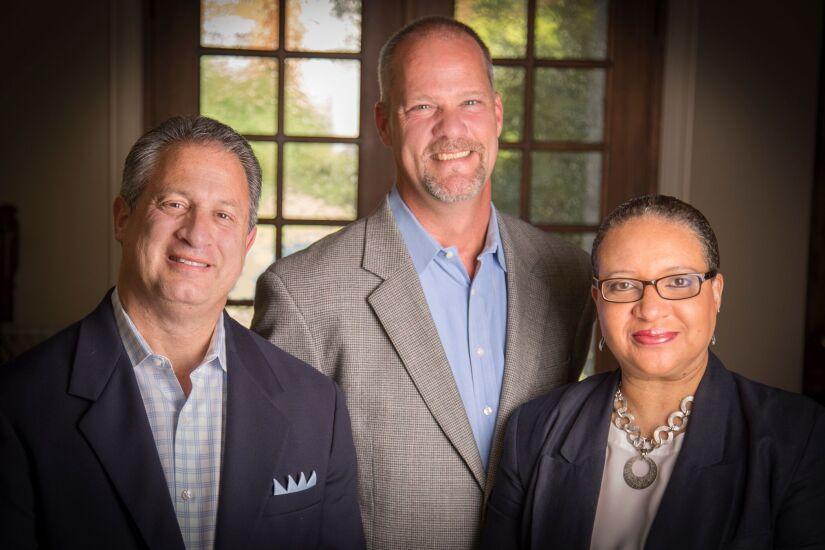 Mark Kopkin, left, Scott Englehardt and Yolanda Etchison join Stifel from Raymond James