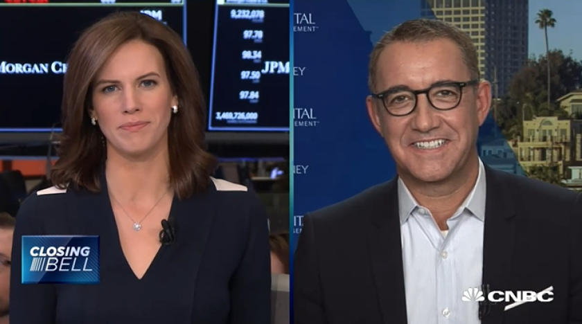 Joe Duran on CNBC with Kelly Evans