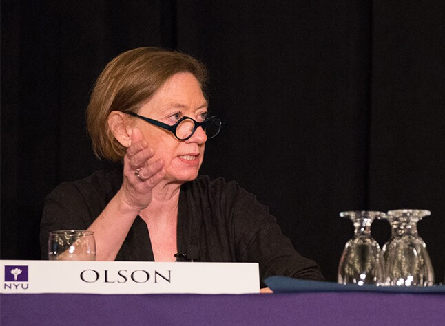 National Taxpayer Advocate Nina Olson at the NYU Tax Controversy Forum