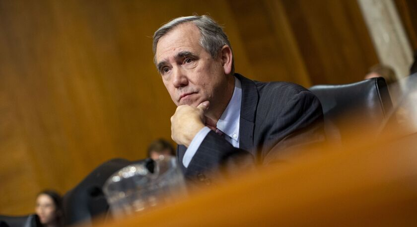 Senator Jeff Merkley, a Democrat from Oregon
