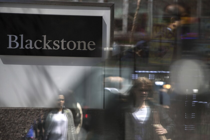 Blackstone, the largest owner of office space in the county, will look to file the prospectus for India's first real estate investment trust listing in August, a person familiar with the matter said.