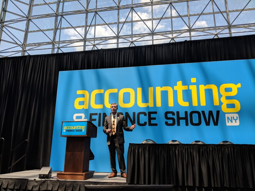 Dr. Sean Stein Smith Accounting and Finance Show NY