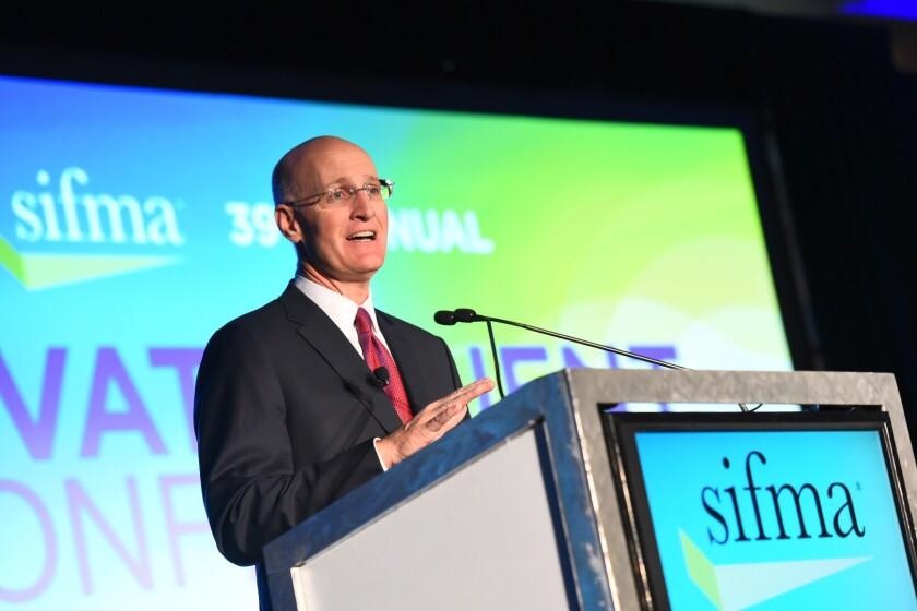 Merrill Lynch head Andy Sieg SIFMA